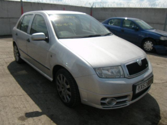 2004 skoda fabia vrs breakers skoda fabia parts skoda fabia breaking. Black Bedroom Furniture Sets. Home Design Ideas