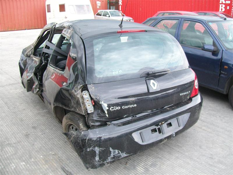 2007 renault clio campus 8v 1149cc breakers renault clio campus 8v parts renault clio campus. Black Bedroom Furniture Sets. Home Design Ideas