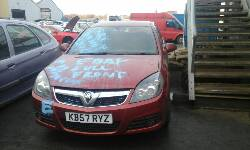 VAUXHALL VECTRA Breakers, VECTRA SRI CDTI 120 Reconditioned Parts