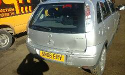 Breaking VAUXHALL CORSA, CORSA DESIGN 16V TWINPORT Secondhand Parts