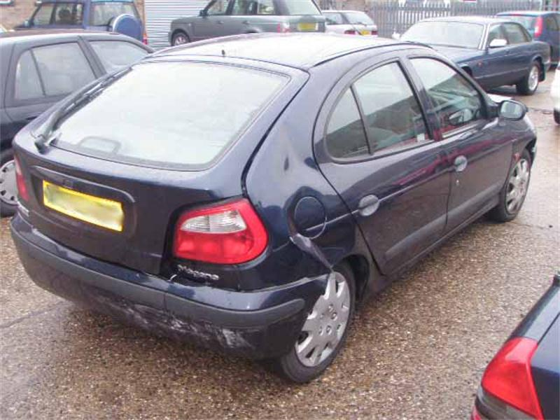 RENAULT MEGANE RT ALIZE AUTO Dismantlers, MEGANE RT ALIZE AUTO 1598cc Used Spares