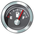 MERCEDES E220 FUEL GUAGE